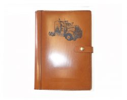 A4 Leather Diary Cover Kenworth T908