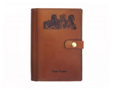A4 leather diary cover