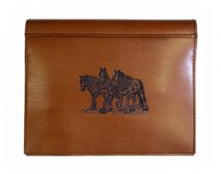 Truck Log Book Cover Draught horse