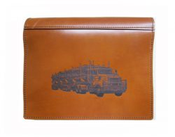 Truck Log Book Cover Kenworth
