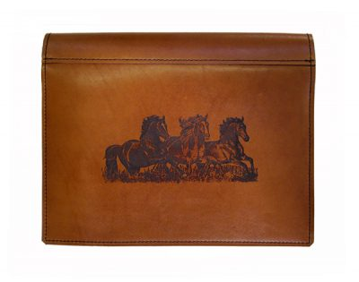 LEATHER LOGBOOK COVER