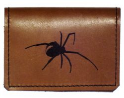 underhide leather credit card holder
