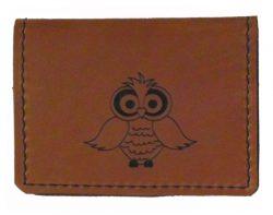 underhide leather credit card holder