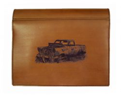 Truck Log Book Cover leather