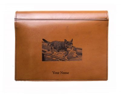 truck log book leather cover
