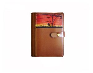 Leather Diary Cover A5