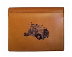 Kenworth truck logbook cover