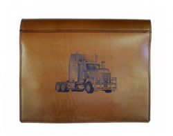 TRUCK LOG BOOK COVER KENWORTH T909