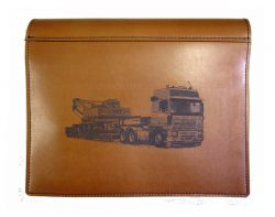 TRUCK LOG BOOK COVER VOLVO F16